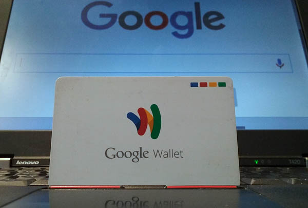 Google is phasing out the Google Wallet Card MasterCard debit card attached to its Google Wallet mobile payments service by summer 2016. (Photo © 2016 Billy Suratt, ALL RIGHTS RESERVED)