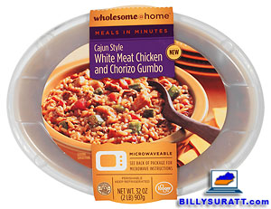 Kroger Wholesome @ Home Meals In Minutes Cajun Style White Meat Chicken and Chorizo Gumbo. (Photo courtesy Kroger Mid-South Division Media Relations)